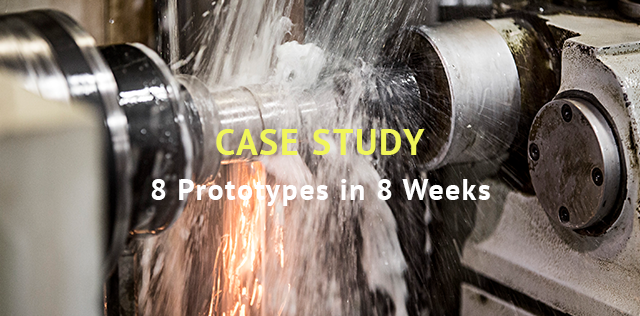 Case study - 8 prototypes in 8 weeks - Sinteris