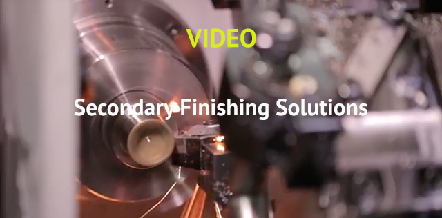 Secondary Finishing video - Sinteris library